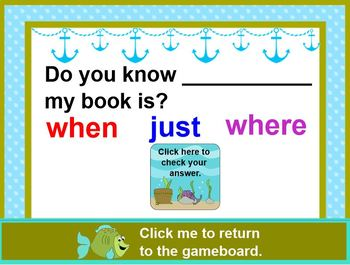Fishing For SIGHT WORDS