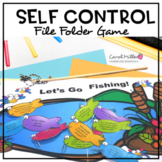 Fishing For Self Control File Folder Game