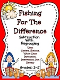 Fishing For The Difference - Subtraction With Regrouping
