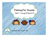 Fishing For Vowels- Set 1- Long A and Short A