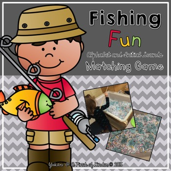 Fishing Fun! Alphabet Matching and Initial Sounds