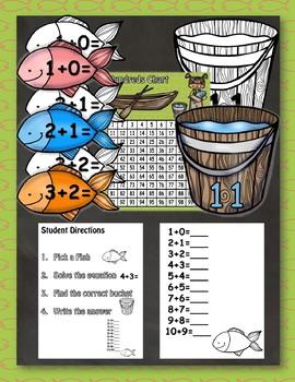 Fishing Fun Math Center Bundle