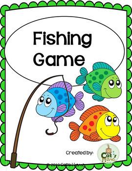 Fishing Game {Color Fishing, Number fishing, & Alphabet fishing}