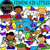 Fishing Kid Littles Clipart {Creative Clips Clipart}