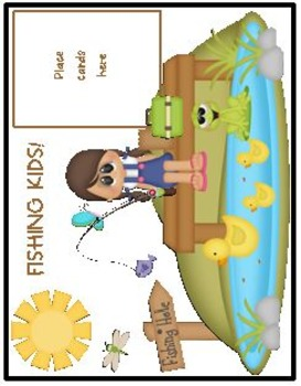 Fishing Kids! A Differentiated Orton-Gillingham Inspired Short i Word Game