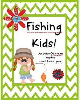 Fishing Kids! A Differentiated Orton-Gillingham Inspired S