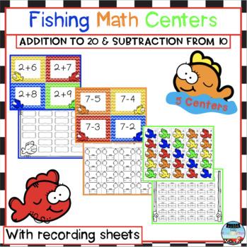 Fishing Math Centers