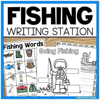 Fishing Mini Writing Station