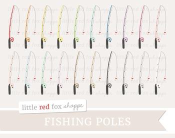 Fishing Pole Clipart; Fishing Rod