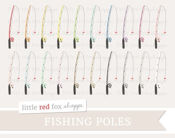 Fishing Pole Clipart; Fishing Rod