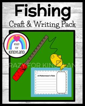 Fishing Pole with Fish Craft and Writing