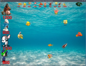 Fishing Q/A Review Game