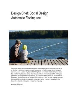 Fishing Reel Automatic Design