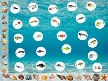 Fishing Review Game (Add Your Own Questions) PowerPoint Game