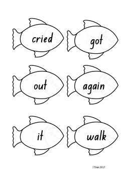 Fishing Sight Word Game – Purple Level PM Sight Words