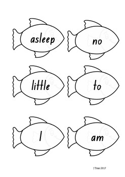 Fishing Sight Word Game – Red Level PM Sight Words