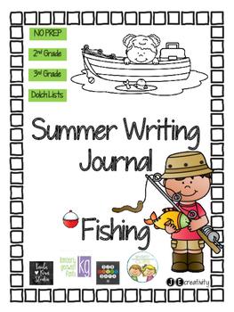 Fishing Summer Writing Journal