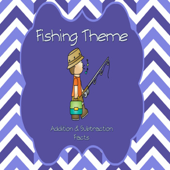Fishing Theme Addition/Subtraction Facts
