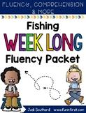 Fishing Week Long Fluency Packet - Week 4 of March Packet