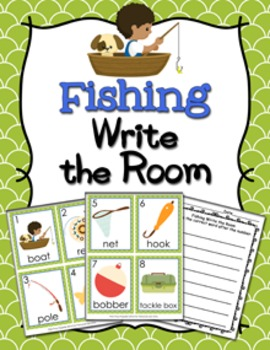 Fishing Write the Room