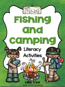 Fishing and Camping Literacy Activities Packet: Grades 1-2
