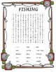 Fishing and Hunting Wordsearch Bundle