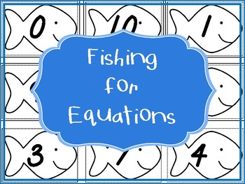 Fishing for 10 and Fishing for Fluency