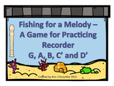 Fishing for A Melody - A Game for Recorder to Practice G, A, B, C' and D'
