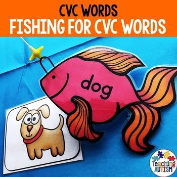 CVC Words for Kindergarten Game