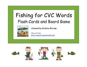 Fishing for CVC Words All Vowels