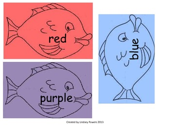 Fishing for Color Words