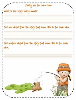 Fishing for Comprehension FREEBIE