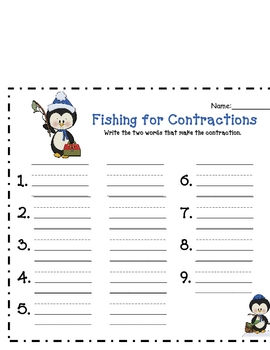 Fishing for Contractions