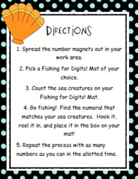 Fishing for Digits: A Number Recognition Game FREE