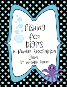 Fishing for Digits: A Number Recognition Game