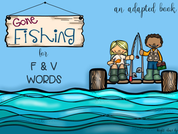 Fishing for F & V Adapted Book