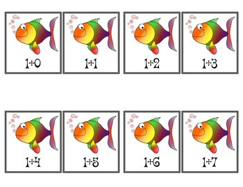 Addition Fishing for Facts Game