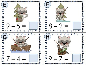 Fishing for Facts (Subtraction with Lil Raccoon)