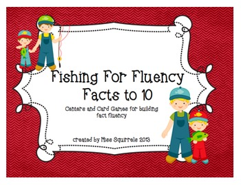 Fishing for Fluency- Facts to 10