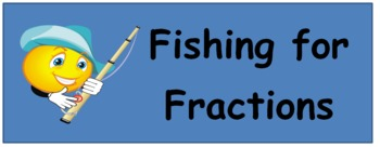 Fishing for Fractions - Go Fish Game to Practice Matching Equivalent Fractions