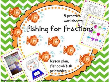 Fishing for Fractions: Math Learning/Craftivity