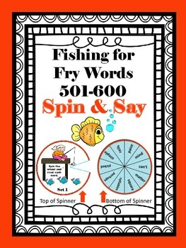 Fishing for Fry Words 501-600