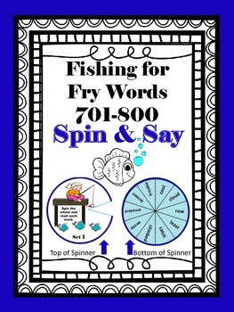 Fishing for Fry Words 701-800