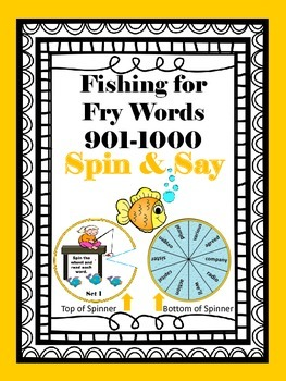 Fishing for Fry Words 901-1000