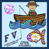 Articulation Fishing Game for F and V