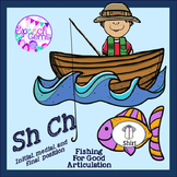 Articulation Fishing Game for Sh and Ch