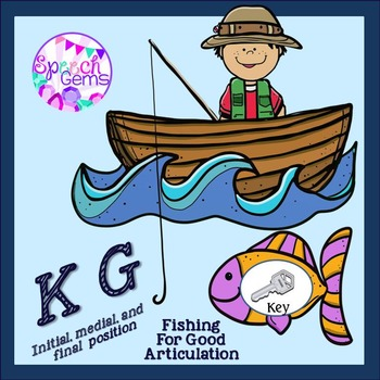 Fishing for Good Articulation Game K and G