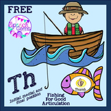 FREE Articulation Th Fishing Game
