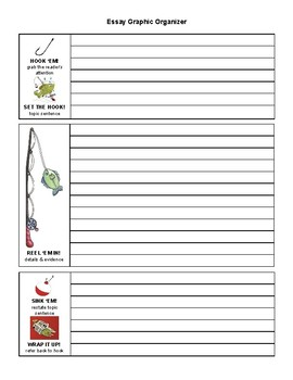 Fishing for Good Writing Nonfiction Graphic Organizer