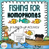 Fishing for Homophones Match Up